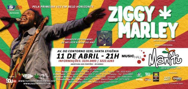 Show: Ziggy Marley em BH